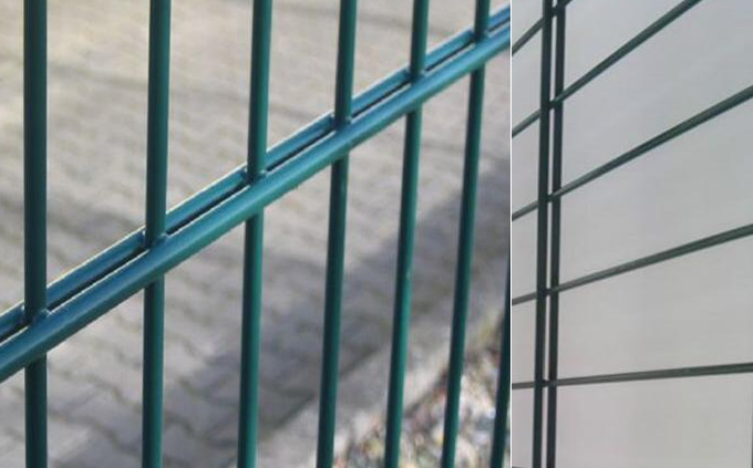 868 Double Wire Mesh Panel Fence Double Wire Fence Double