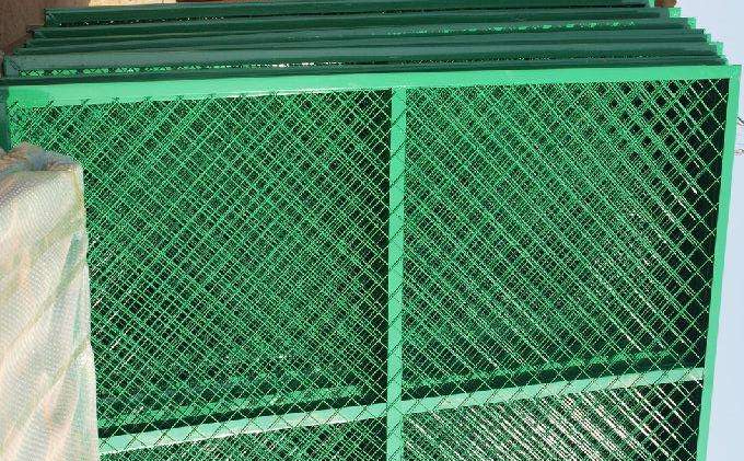 High Security Fence 358 Mesh Fence Y Fence Post 3d Welded
