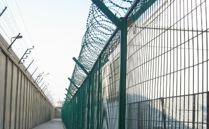 High Security Fence-358 Mesh Fence,Y Fence Post,3D Welded Fence ...